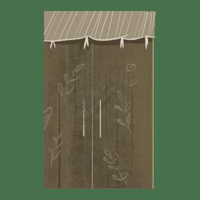 木质收纳柜子