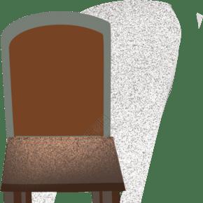 棕色高端椅子插图