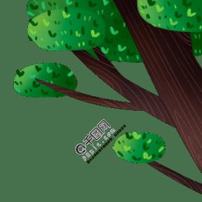 绿色生活环境保护植物树