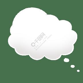 云彩对话框