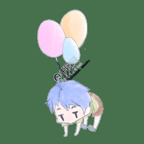 520小清新气球情侣头像