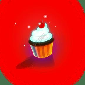 新鮮的蛋糕圖標免摳圖