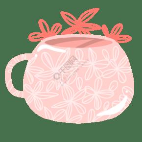 花紋圖案杯子設計