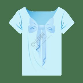 卡通蓝色水手服