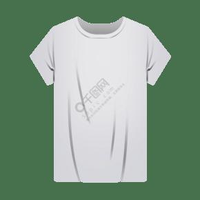 卡通白色T恤衫
