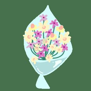 一束淡黄色洋甘菊