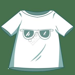 卡通夏季T恤插图