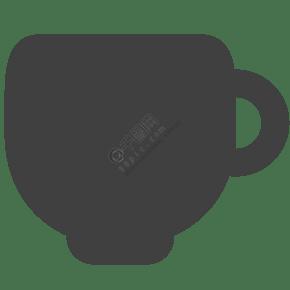 卡通的茶杯杯子