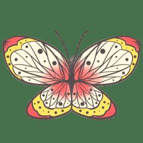 昆虫蝴蝶清新唯美