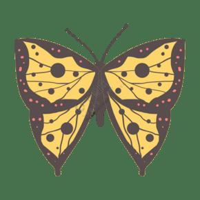 昆虫蝴蝶清新