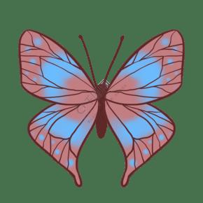 昆虫蝴蝶唯美清新