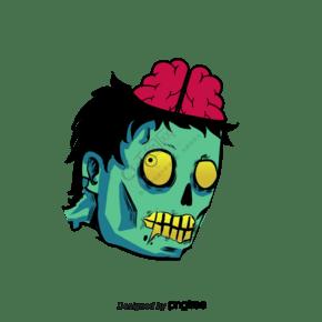 可怕的僵尸咬人