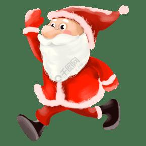矢量圣诞老人和孩子们