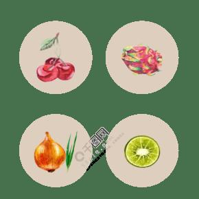 创意水果和蔬菜