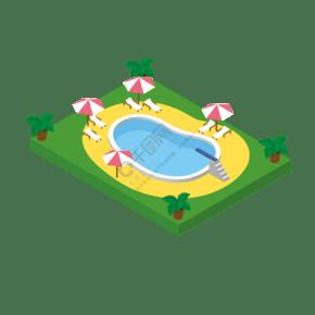 池矢量卡通