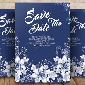 婚礼邀请和保存日期