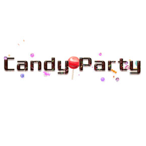 3D糖霜派对字体