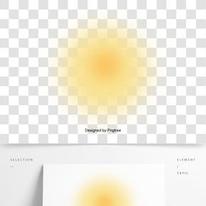 日出的太陽