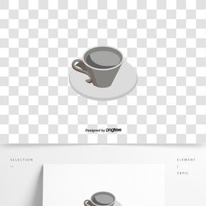 一個溫暖的冬天熱可可白色陶瓷咖啡杯