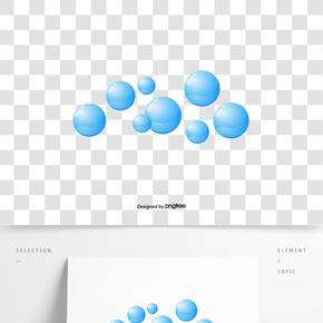 矢量流的小水泡和水泡沫