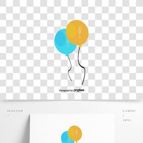 節日矢量裝飾氣球
