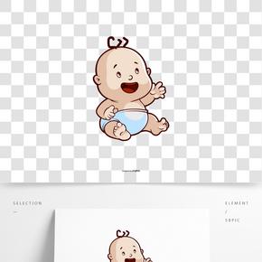 卡通寶貝圖像