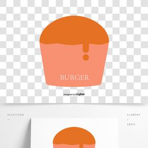卡通,漢堡包,標志
