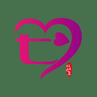 <i>七</i><i>夕</i>艺术字抽象字体下载