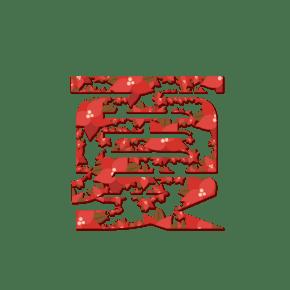 夏字艺术字设计