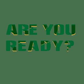 Are you ready 字体免费下载