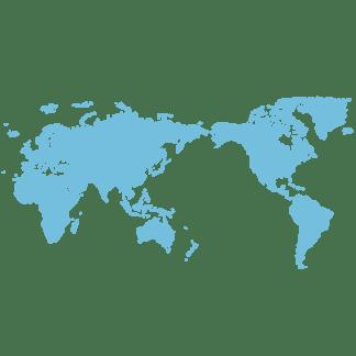 绿色简约地图