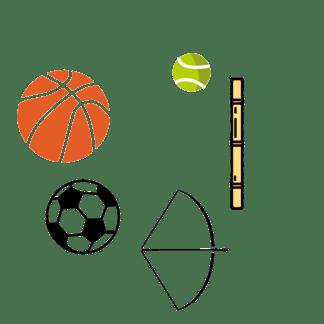 足球篮球射箭<i>运</i>动海报促销素材