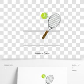 英國英式網球拍網球創意元素
