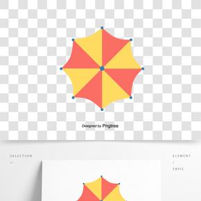 夏季旅游度假遮陽傘