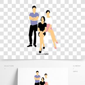 商務企業人物海報宣傳