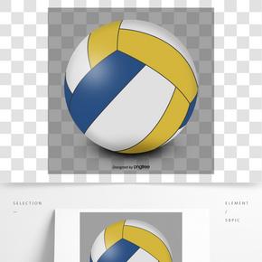 立體排球元素