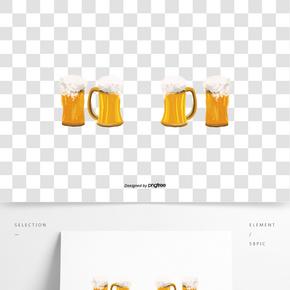 啤酒狂歡節酒杯啤酒