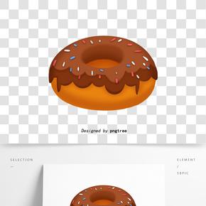 美國快餐手繪甜甜圈