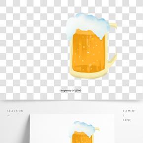 啤酒節啤酒泡沫酒杯
