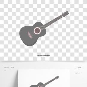 卡通風格樂器吉他