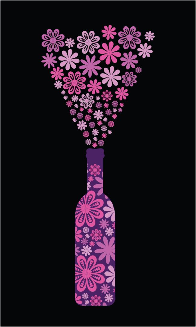 创意酒瓶矢量素材下载装饰图案免费下载_格式:eps(:)图片