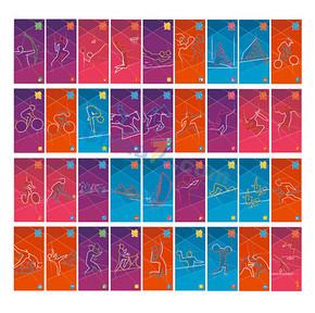 2012年伦敦奥运会体育图标
