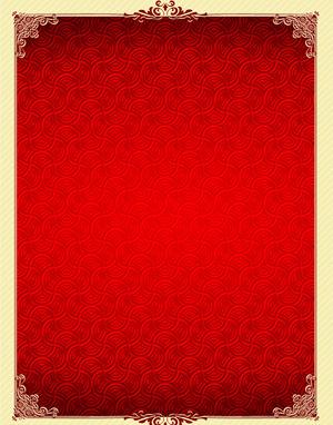 红色花纹背景矢量图下载