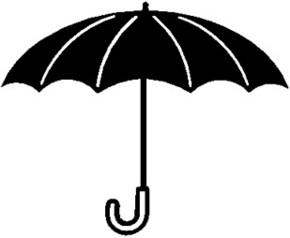 雨伞矢量图下载