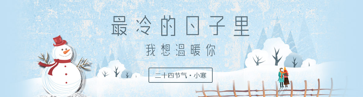 [平面]小寒节气海报