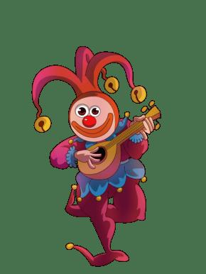 愚人节小丑免扣元素