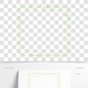 花紋邊框圖片