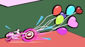 520粉色求爱简洁插画png