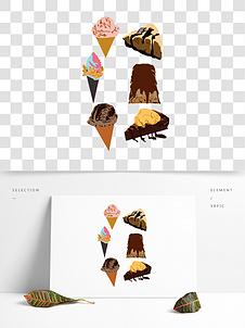 11款手绘食物矢量素材