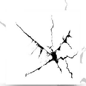 自由裂玻璃矢量背景